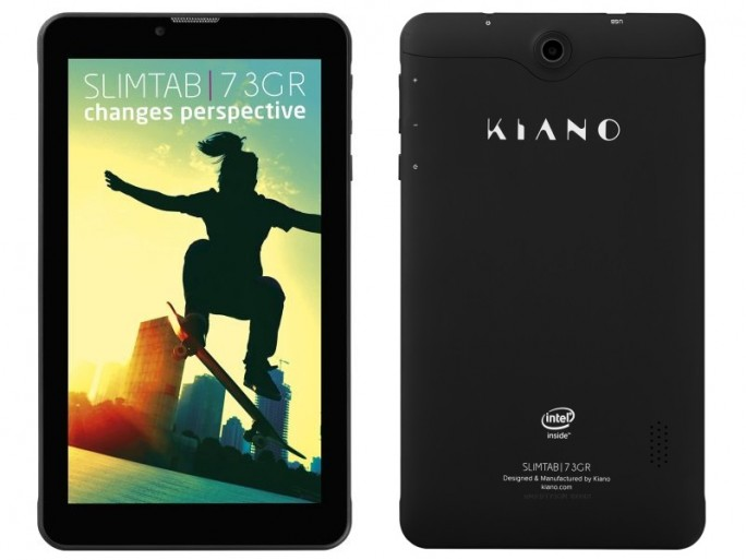 Das Kiano SlimTab 7 3GR ist das europaweit erste Tablet mit Intels neuem Atom-x3-Chip (Bild: Kiano).