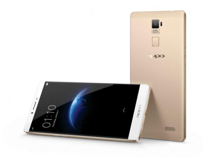 Das verbesserte Oppo R7 Plus kommt mit 4 GByte RAM und 64 GByte internem Speicher (Bild: Oppo).