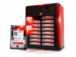 Die Red-Pro-Reihe umfasst jetzt Modelle mit bis zu 6 TByte (Bild: WD).