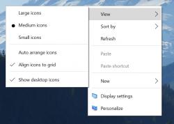 Modernes Kontext-Menü für Windows 10 (Bild: Microsoft)