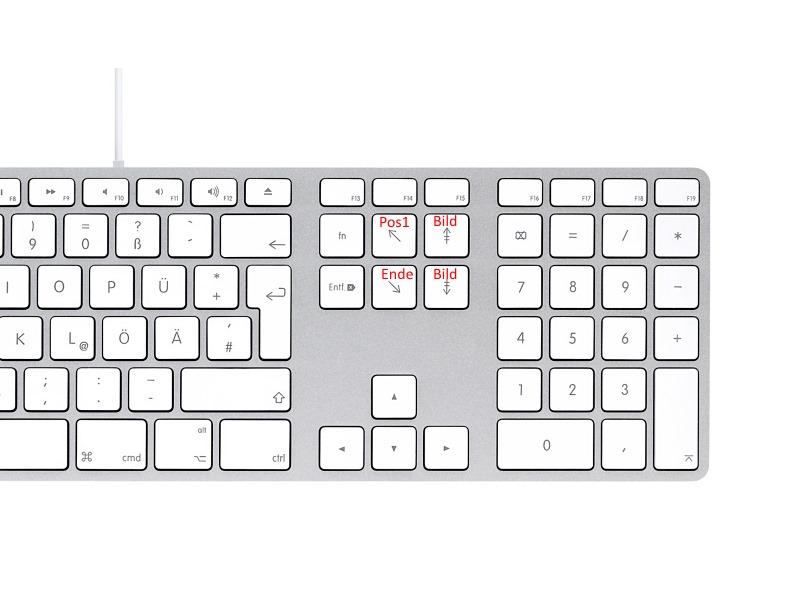 Tastatur Tasten