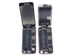 iPhone-Akkus (Bild: iFixit).