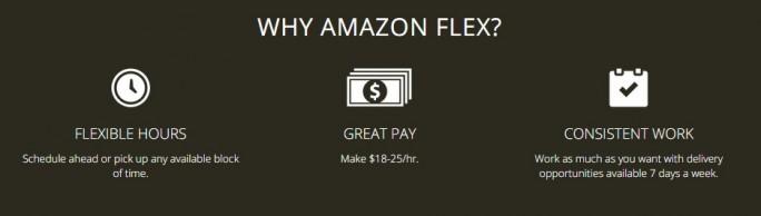 Vorteile von Flex für Fahrer (Bild: Amazon)