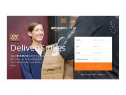 Amazon sucht Fahrer für Flex in Seattle (Screenshot: ZDNet.de)