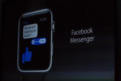 Facebook Messenger wird künftig als native App auf der Apple Watch laufen (Bild: James Martin/CNET).