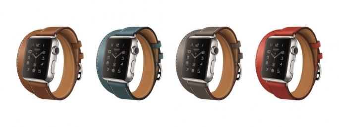 Die Apple Watch Hermès kombiniert ein Edelstahlgehäuse mit edlem Leder (Bild: Apple).