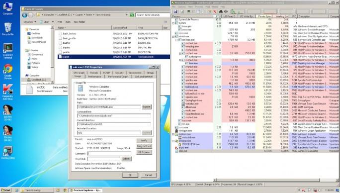 Sicherheitsforscher Tavis Ormandy hat Details zu der Anfang des Monats publizierten und inzwischen geschlossenen Zero-Day-Lücke in Antivirensoftware von Kaspersky veröffentlicht (Screenshot: Tavis Ormandy).