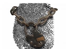Fingerabdruck mit Schloss (Bild: ZDNet.com)