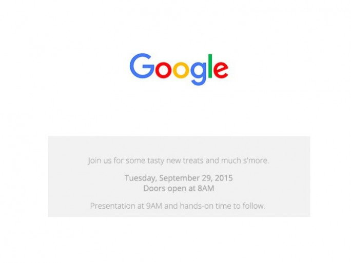 Google-Event September 2015 (Bild: Google)