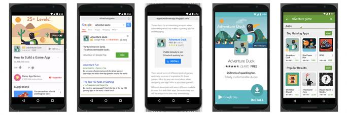 Universal App Campaigns (Bild: Google)