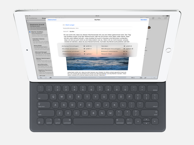 iPad Pro mit Smart Keyboard (Bild: Apple)