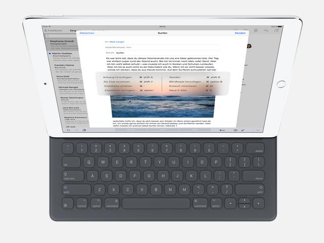 iPad Pro mit Smart Keyboard (Bild: Apple)