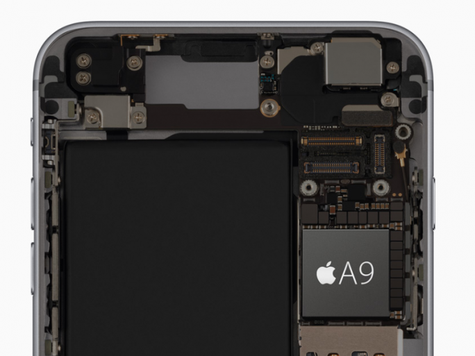 iPhone 6S A9-CPU (Bild: Apple)