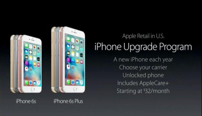 Das iPhone Upgrade Program erlaubt Kunden, das jeweils neueste iPhone-Modell zu mieten (Screenshot: Kevin Tofel/ZDNet.com).