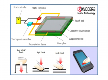 Kyocera arbeitet an Force-Feedback-Technik für Touchscreens