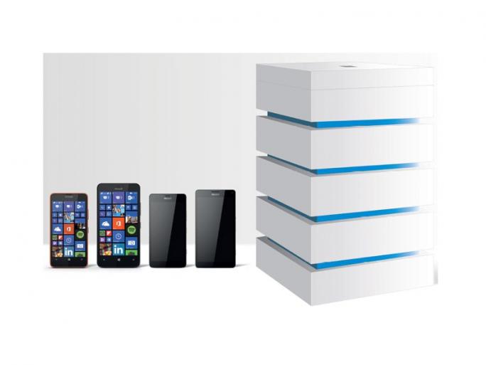 Werbekampagne für Lumia-Smartphones (Bild: Microsoft via Paul Thurrott)