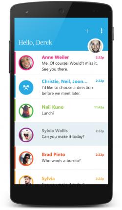 Send liegt jetzt auch als Beta für Android vor (Bild: Microsoft).