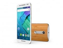 Das Moto X Style ist hierzulande zunächst in der 32-GByte-Version für 499 Euro erhältlich (Bild: Motorola).