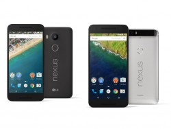 Nexus 5X (links) und Nexus 6P (rechts) (Bild: Google)