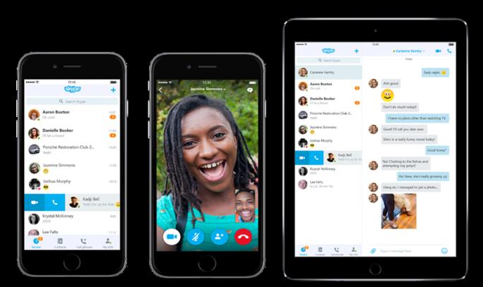 Die iOS-Clients sind an die unterschiedlichen Displaygrößen von iPhone und iPad angepasst (Bild: Microsoft).