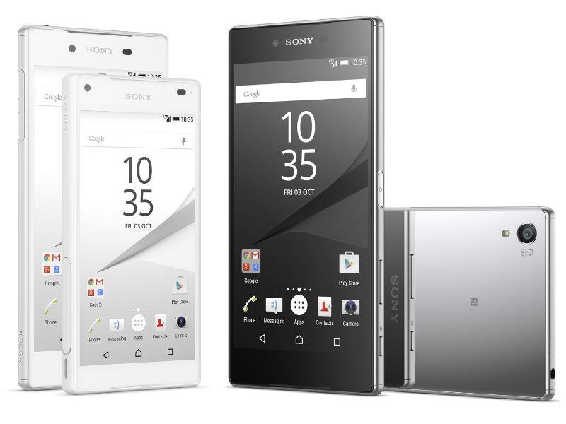 Sony enthüllt Xperia-Z5-Smartphones mit 23-Megapixel-Kamera