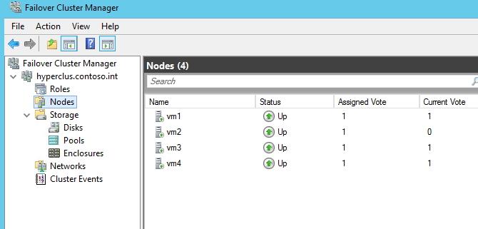 Im Failover Cluster Manager überprüfen Administratoren die Funktion des Clusters (Screenshot: Thomas Joos).
