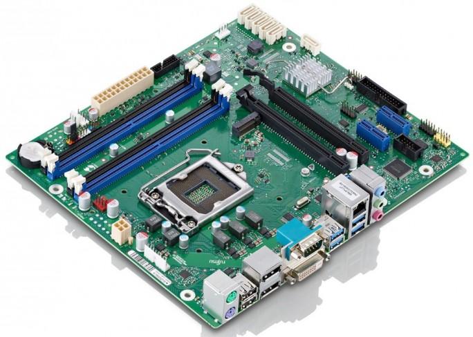 Fujitsu D3417-B mit C236-Chipsatz (Bild: Fujitsu)