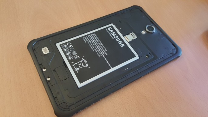 Samsung GALAXY Tab Active (Screenshot: ZDNet.de)