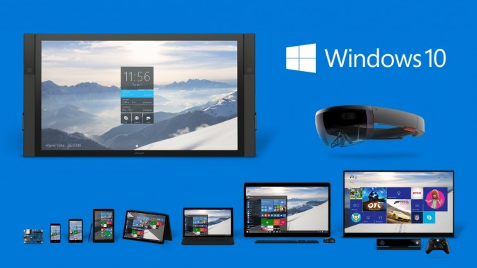 Windows 10 Product-Family (Bild: Microsoft)