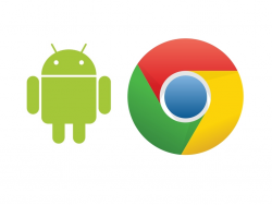 Logos von Android und Chrome (Bild: Google)