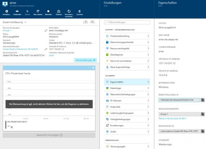Im Rahmen der Erstellung eines neuen Container-Hosts lassen sich auch die Netzwerke auswählen sowie die Subnetze für die Kommunikation der Container-Hosts untereinander festlegen (Screenshot: Thomas Joos).