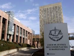 Das Eingangsgebäude des Gerichtshofs der Europäischen Union auf dem Kirchberg in Luxemburg (Bild: Europaparlament)