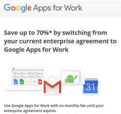 Mit seinem neuen Angebot will Google vor allem Kunden von Office 365 zu sich locken (Screenshot: ZDNet.de).