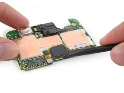 Fingerabdruckscanner des von Huawei gebauten Nexus 6P (Bild: iFixit)