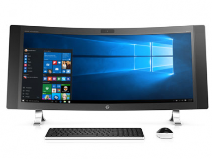 HP Envy Curved All-in-One (Bild: HP)