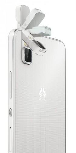 Das ShotX besitzt eine um 180 Grad umklappbare 13-Megapixel-Kamera (Bild: Huawei).