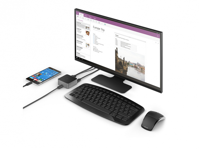 Microsoft Display Dock HD 500 (Bild: Microsoft)