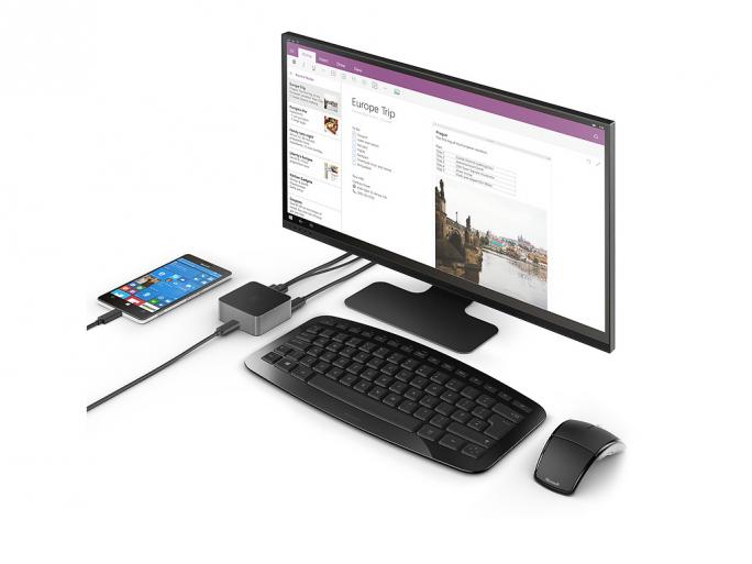 Microsoft Display Dock HD 500 (Bild: Microsoft)