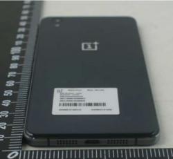 So könnte die Rückseite des OnePlus X aussehen (Bild via FCC).