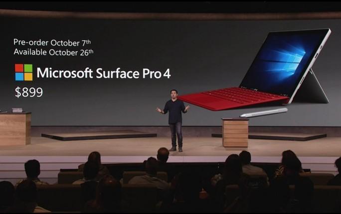 Surface Pro 4 (Screenshot: ZDNet.de)