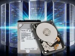 Toshibas neue Enterprise-HDD-Reihe AL14SE bietet Kapazitäten von 300 GByte bis 1,2 TByte (Bild: Toshiba).