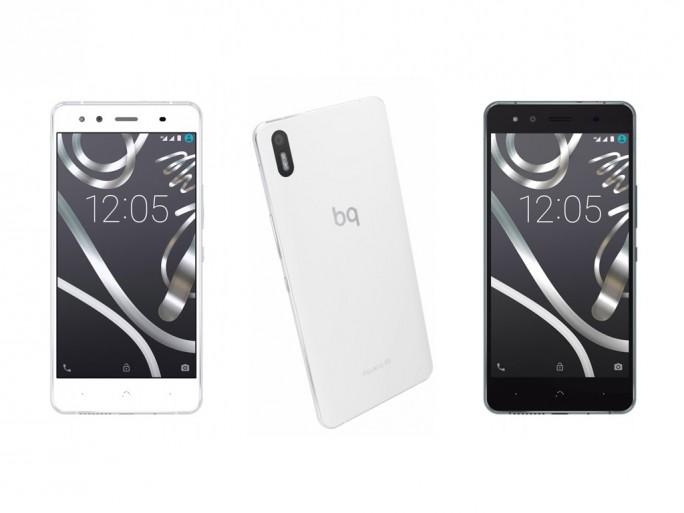 Das Cyanogen-OS-Smartphone BQ Aquaris X5 wird hierzulande knapp 240 Euro kosten (Bild: Telefónica).