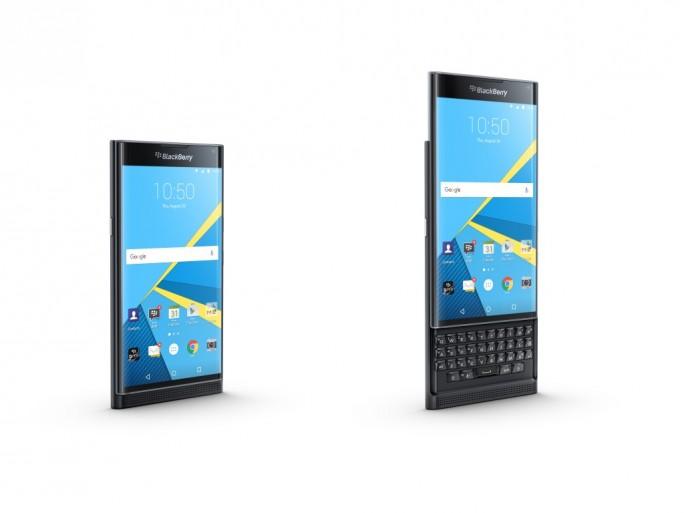 BlackBerry Priv: Front (Bild BlackBerry)