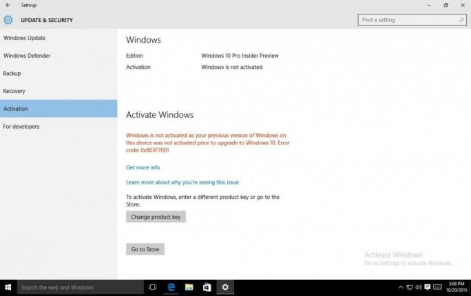 Der Umstieg auf eine legale Kopie soll Nutzern - zunächst in den USA - so einfach wie möglich gemacht werden (Screenshot: Microsoft).