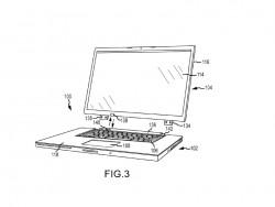 Hybrid-Notebook-Konzept von Apple (Bild: via USPTO)