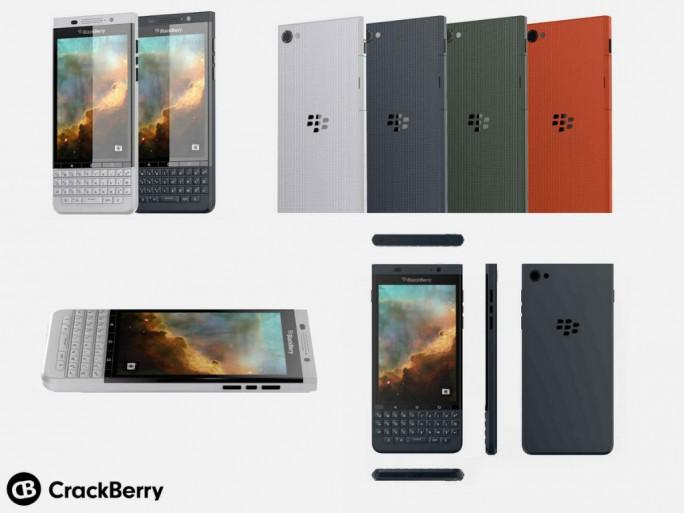 """So soll Blackberrys zweites Android-Smartphone mit dem Codenamen """"Vienna"""" aussehen (Bild via Crackberry)."""