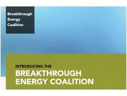 Breakthrough Energy Coalition (Screenshot: ZDNet.de)