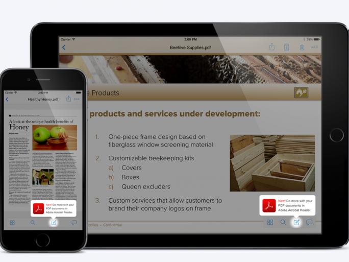Dropbox-Nutzer können nun aus der iOS-App heraus PDF-Dateien bearbeiten (Bild: Dropbox).