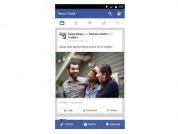 Facebook für Android (Bild: Facebook)