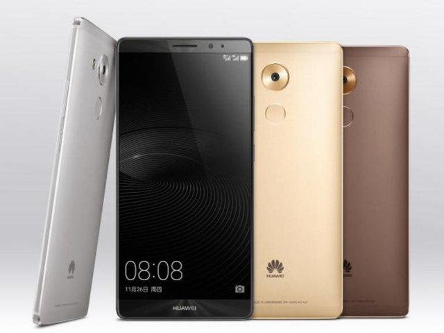 6-Zoll-Smartphone Mate 8 (Bild: Huawei)
